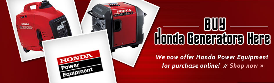 Honda Generators at Suburban Lawn Equipment Delaware
