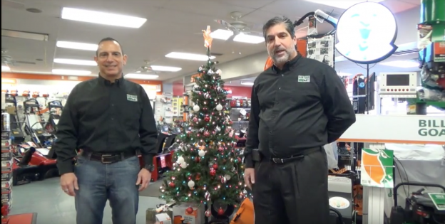 Happy Holidays from Suburban Lawn Equipment