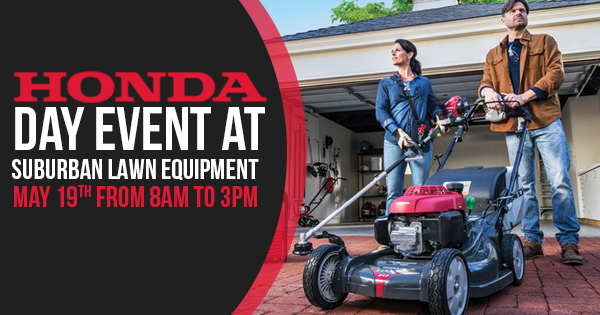 Honda Day Event Suburban Lawn Equipment