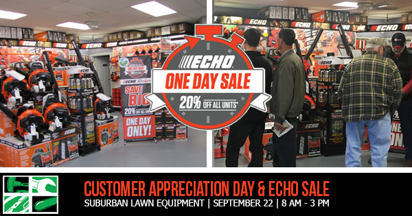 customer appreciation day special discounts