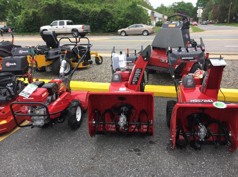 Honda lawn mowers at Suburban Lawn Equipment Delaware
