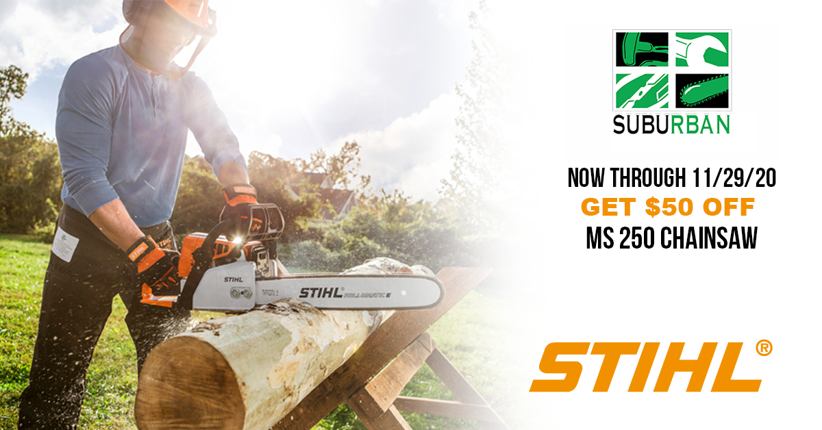 2020 STIHL chainsaw deal