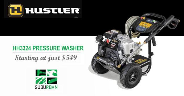 hustler pressure washers starting at 549